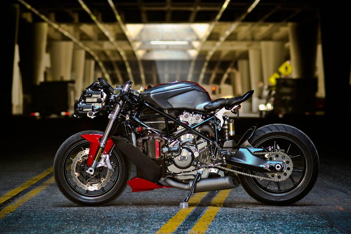 Café Racer 76 Ducati 749 By Apogee Motorworks