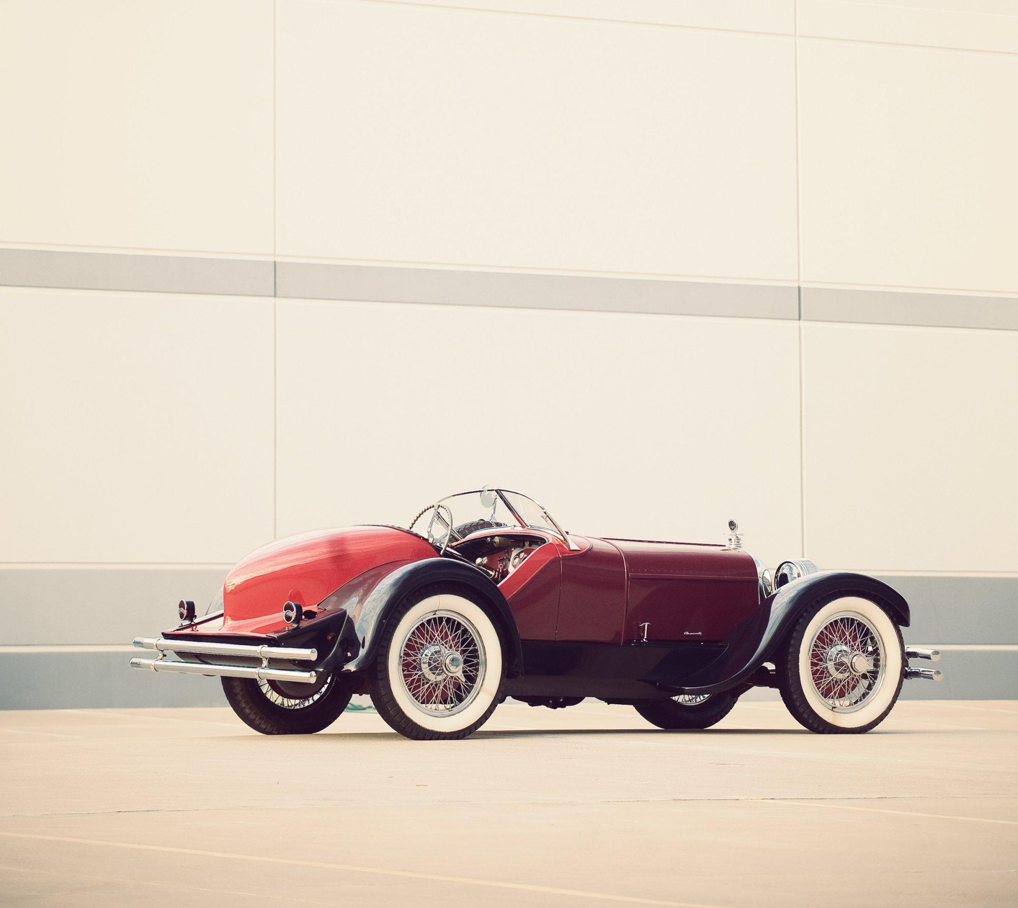 duesenberg model  speedster