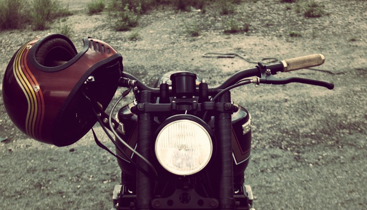Honda CB750 headlight_Fotor