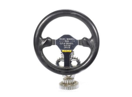 Nigel Mansell steering wheel 450x330 - Nigel Mansell's Steering Wheel