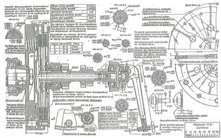 Russian M-72 Blueprints 12