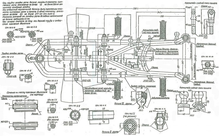 Russian M-72 Blueprints 5