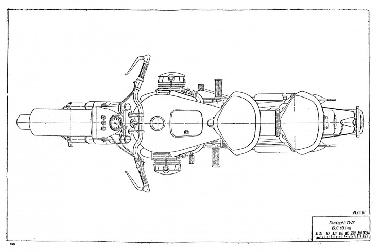 Russian M-72 Blueprints 6