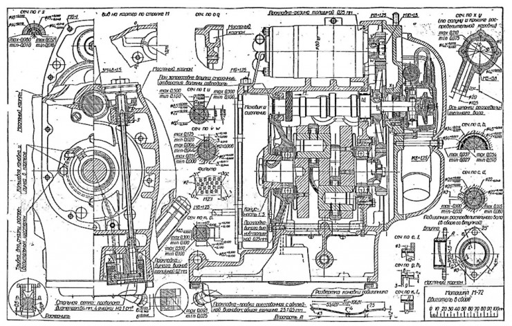 Russian M-72 Blueprints