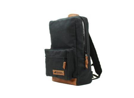 Waxed Canvas Rucksack by Rugged Material 1