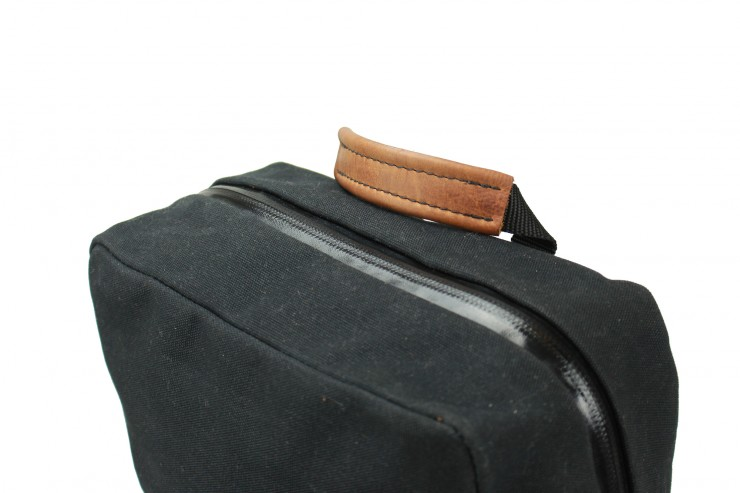 Waxed Canvas Rucksack by Rugged Material