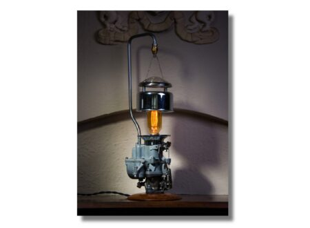carburettor lamp 450x330 - Carburettor Lamp by Futility Studios