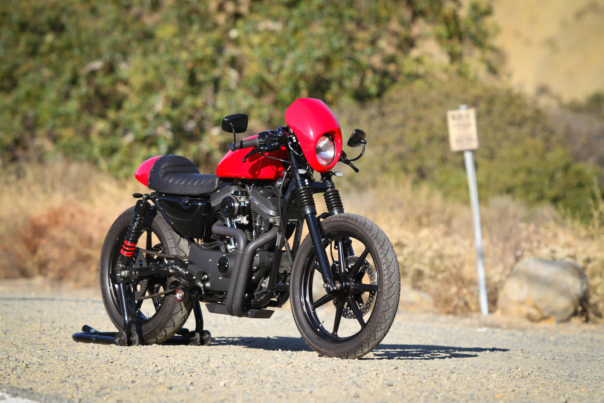 Harley Davidson Sportster Cafe Racer 2