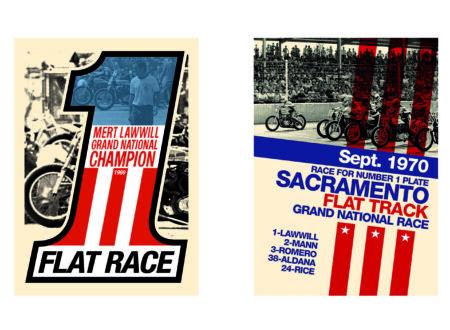 silkscreen print 450x330 - Retro Silkscreen Racing Posters