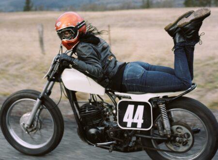 women motorcycle 2 450x330 - Jenny + Heidi by Lanakila MacNaughton