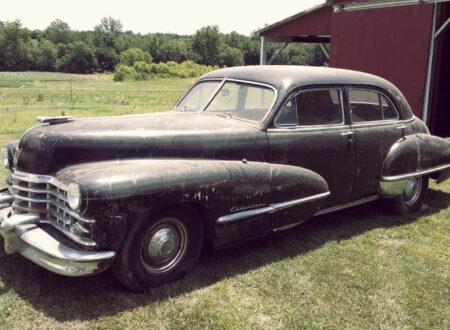 Cadillac Barn Find 14 450x330 - 1947 Cadillac Series 62 Barn Find
