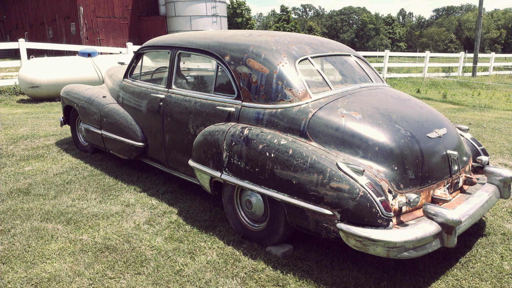 Cadillac Barn Find 9 8