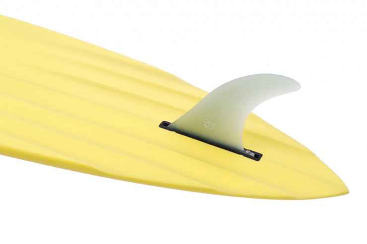 Channel Bottom Surfboard Fin
