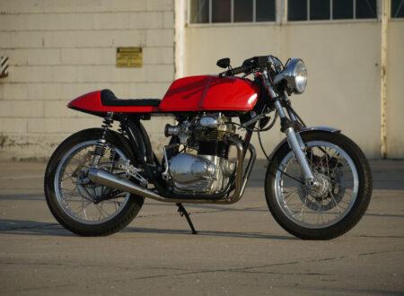 Honda CB350 Cafe Racer 20 450x330 - 1973 Honda CB350 Cafe Racer
