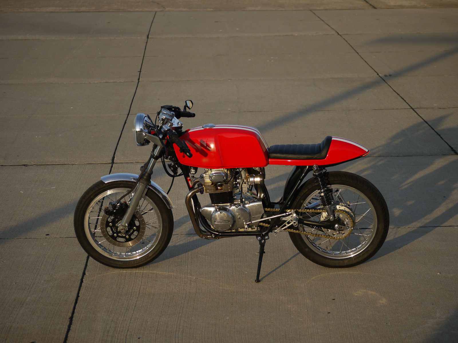 Honda CB350 Cafe Racer 7 5 2 1 Collage