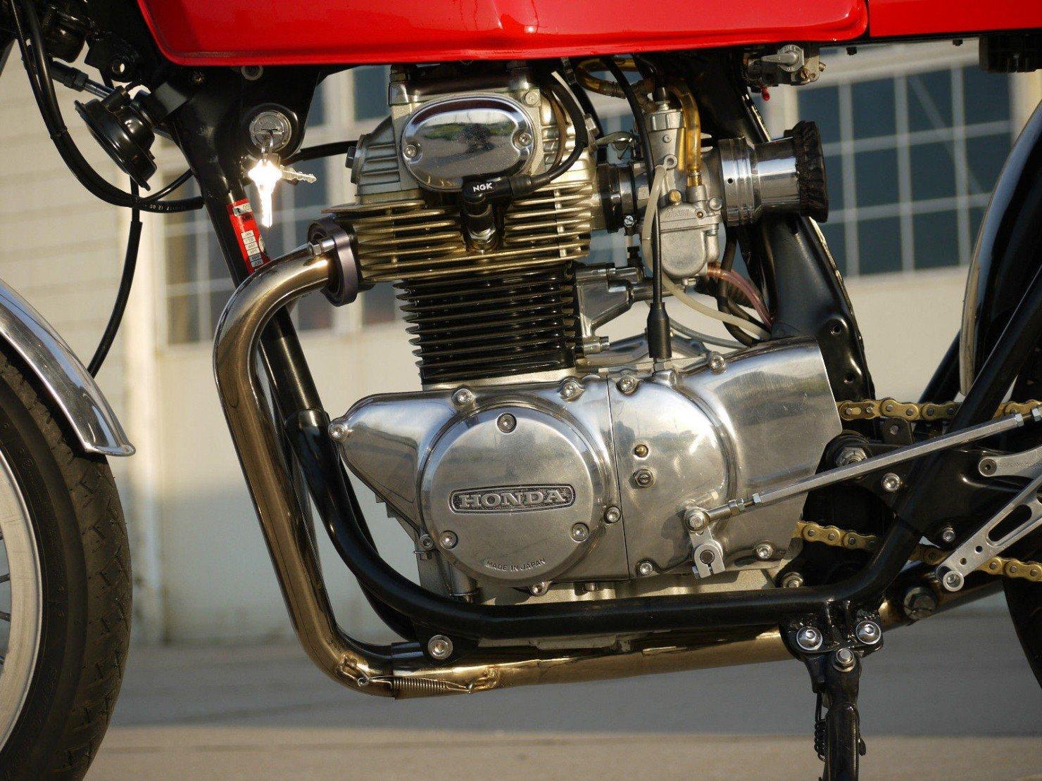 1973 Honda CB350 Cafe Racer