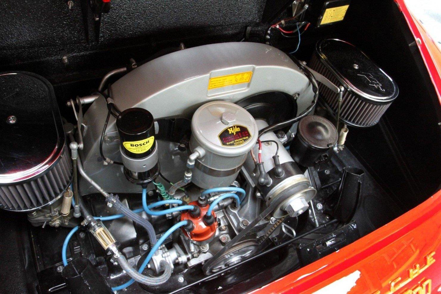 Porsche 356 Roadster Engine