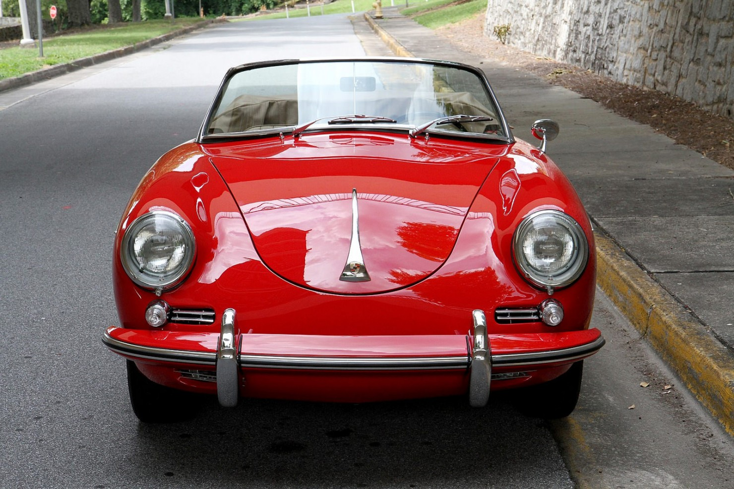 Porsche 356 Roadster Front