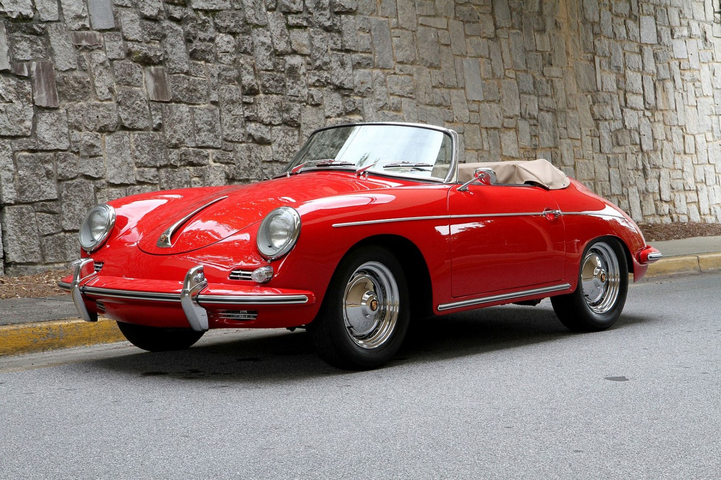 Porsche 356 Roadster Front Side