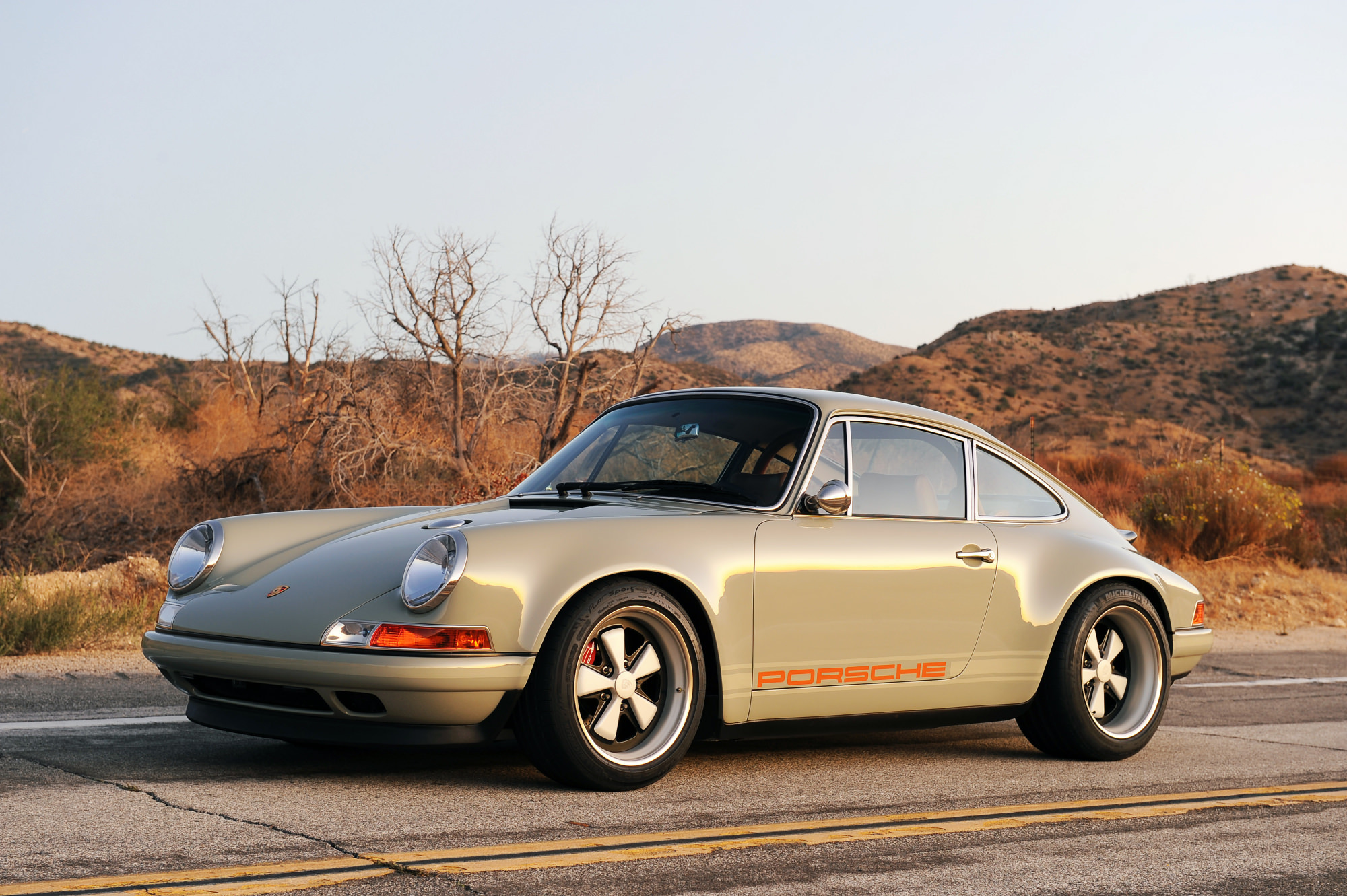 Porsche 911 X Singer Vehicle Design