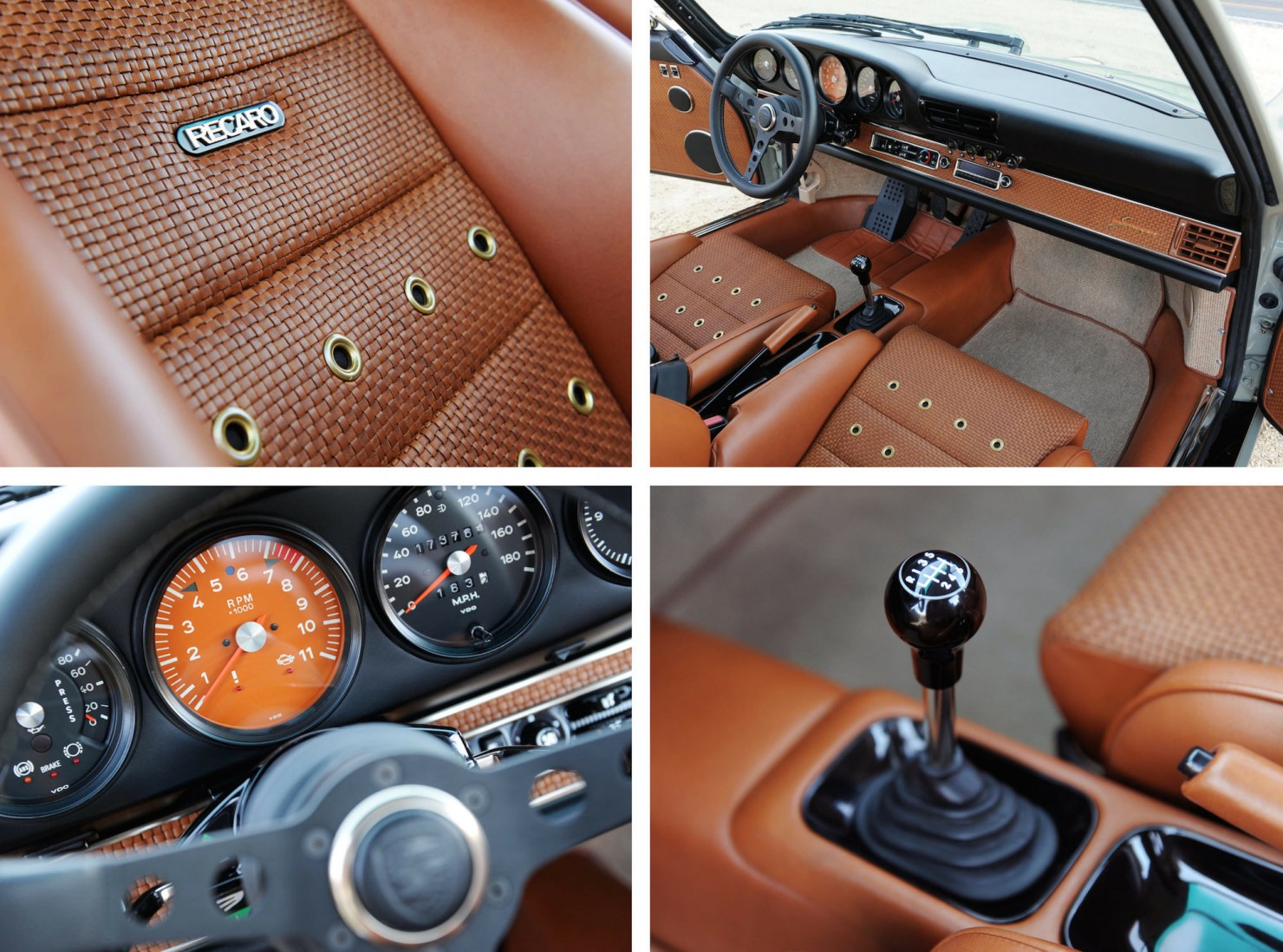 Porsche 911 x singer vehicle design for Porsche 911 interieur