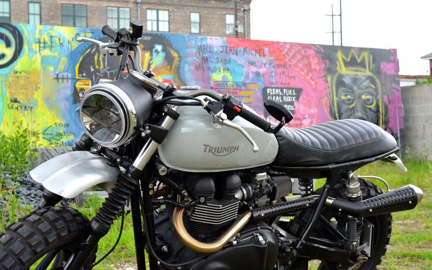 Triumph Scrambler Motorcycle 1
