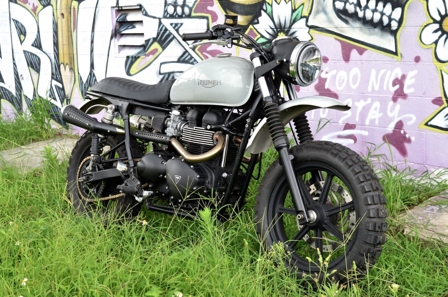 Triumph Scrambler Motorcycle 10