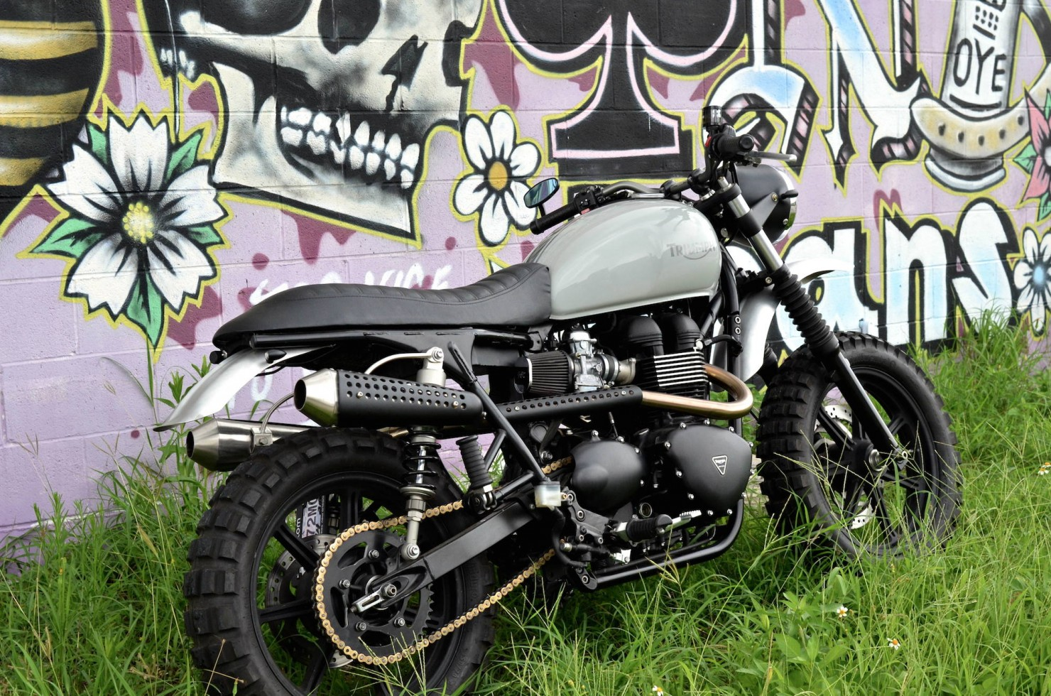 Triumph Scrambler Motorcycle 11