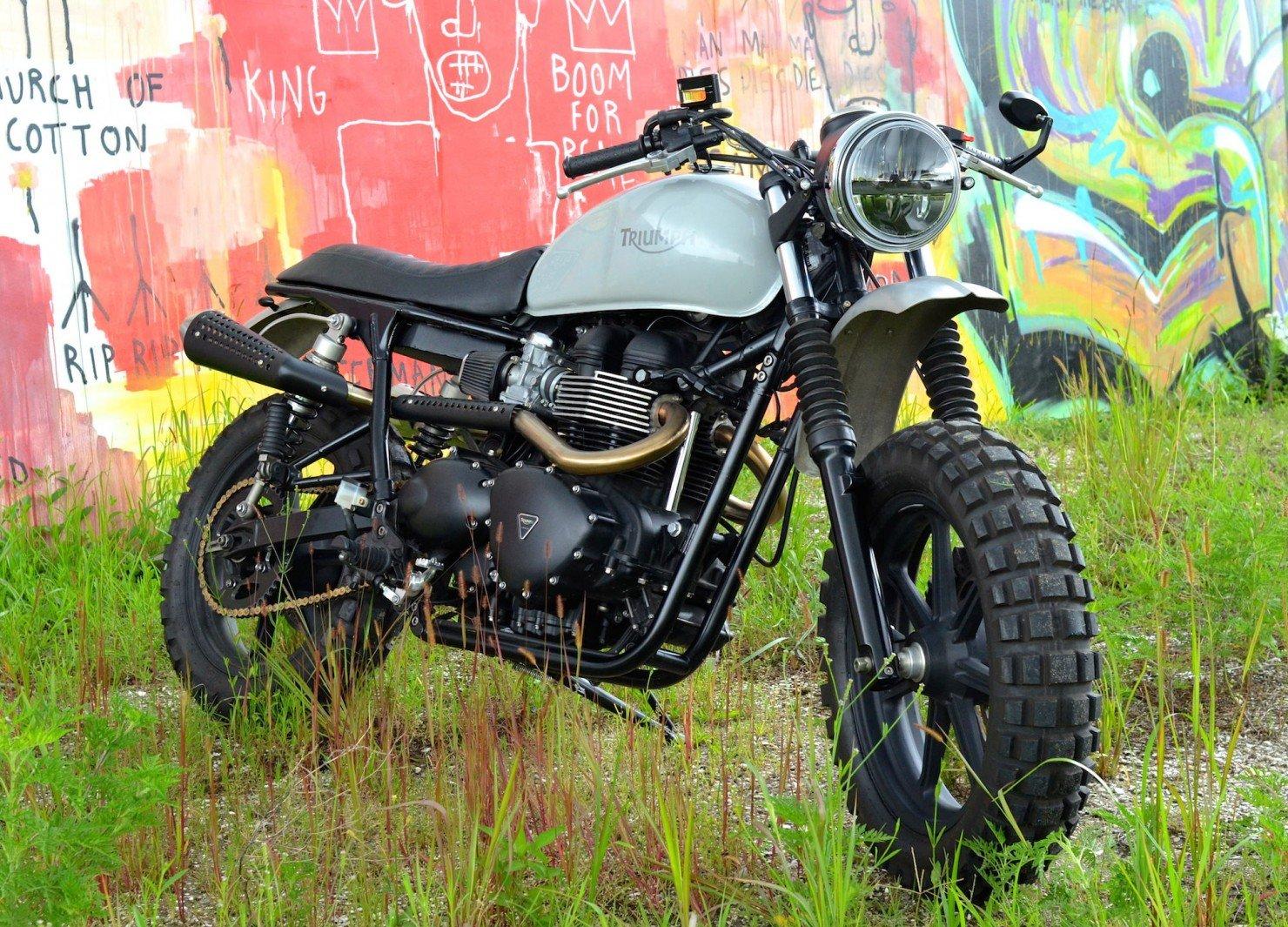 Triumph Scrambler Motorcycle 3