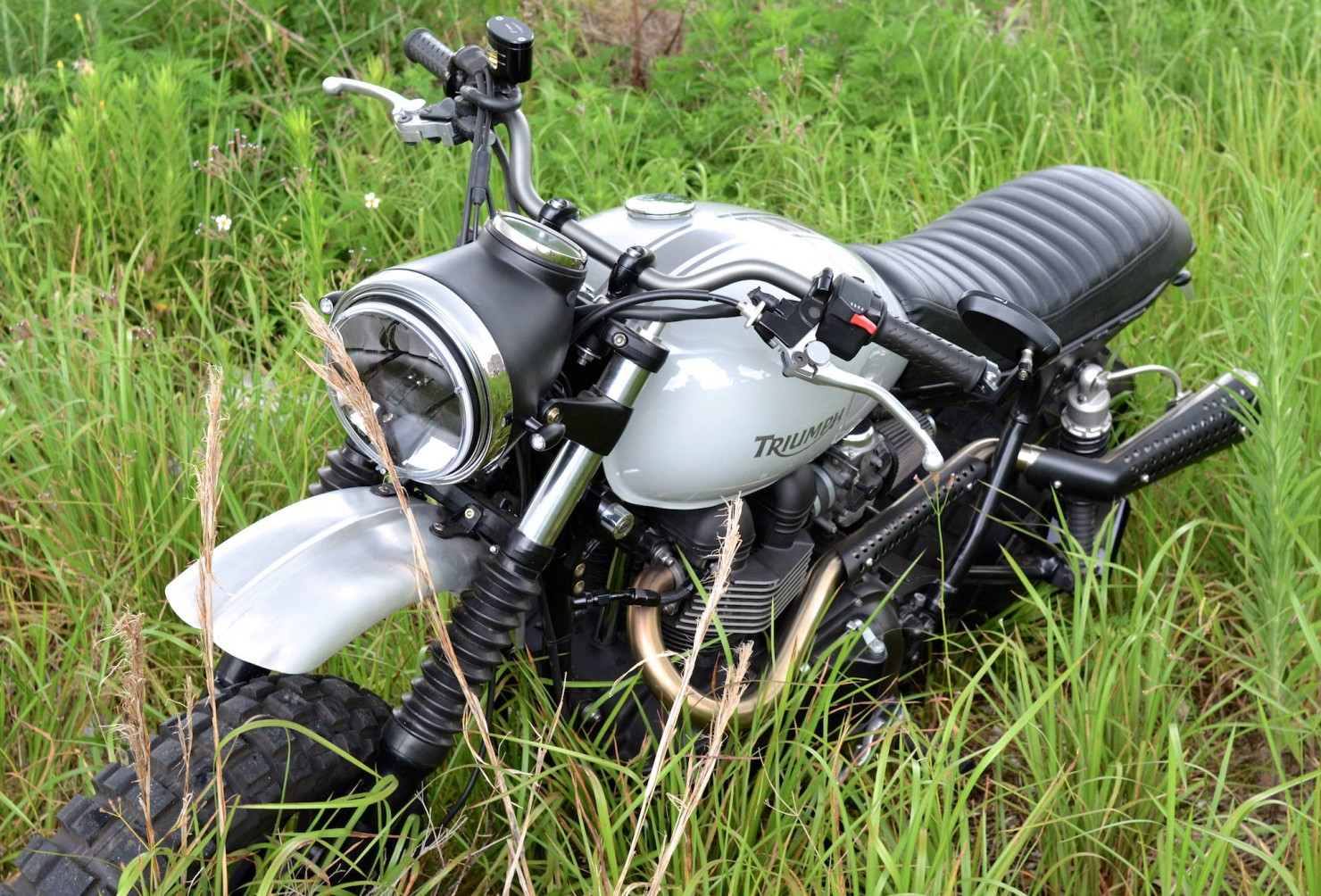 Triumph Scrambler Motorcycle 4