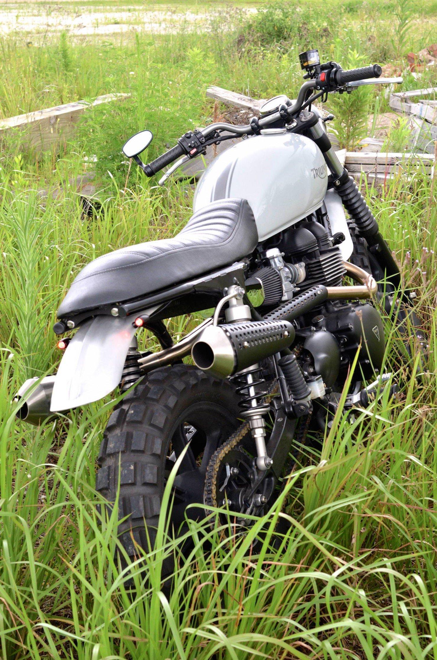 Triumph Scrambler Motorcycle 5