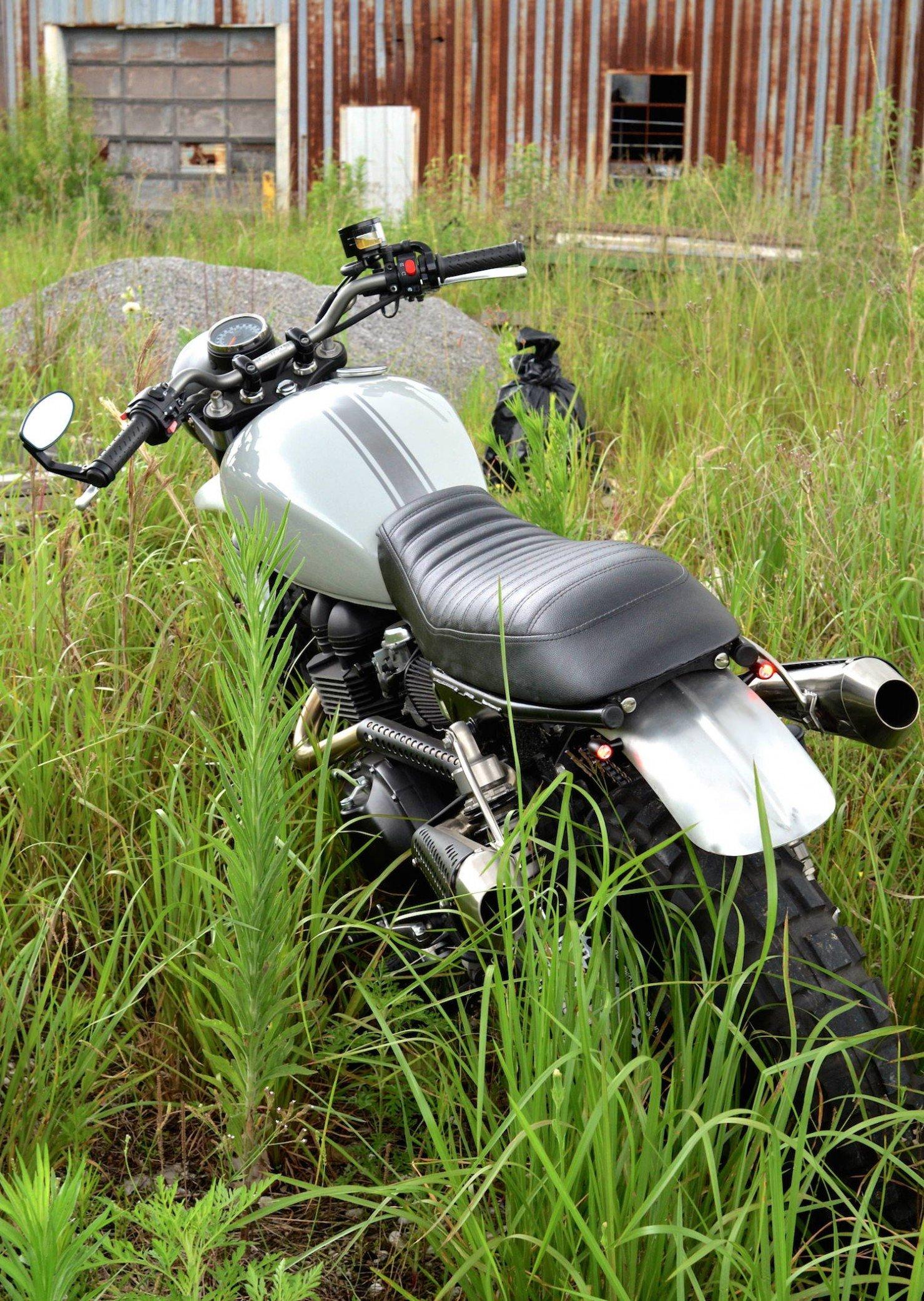 Triumph Scrambler Motorcycle 6