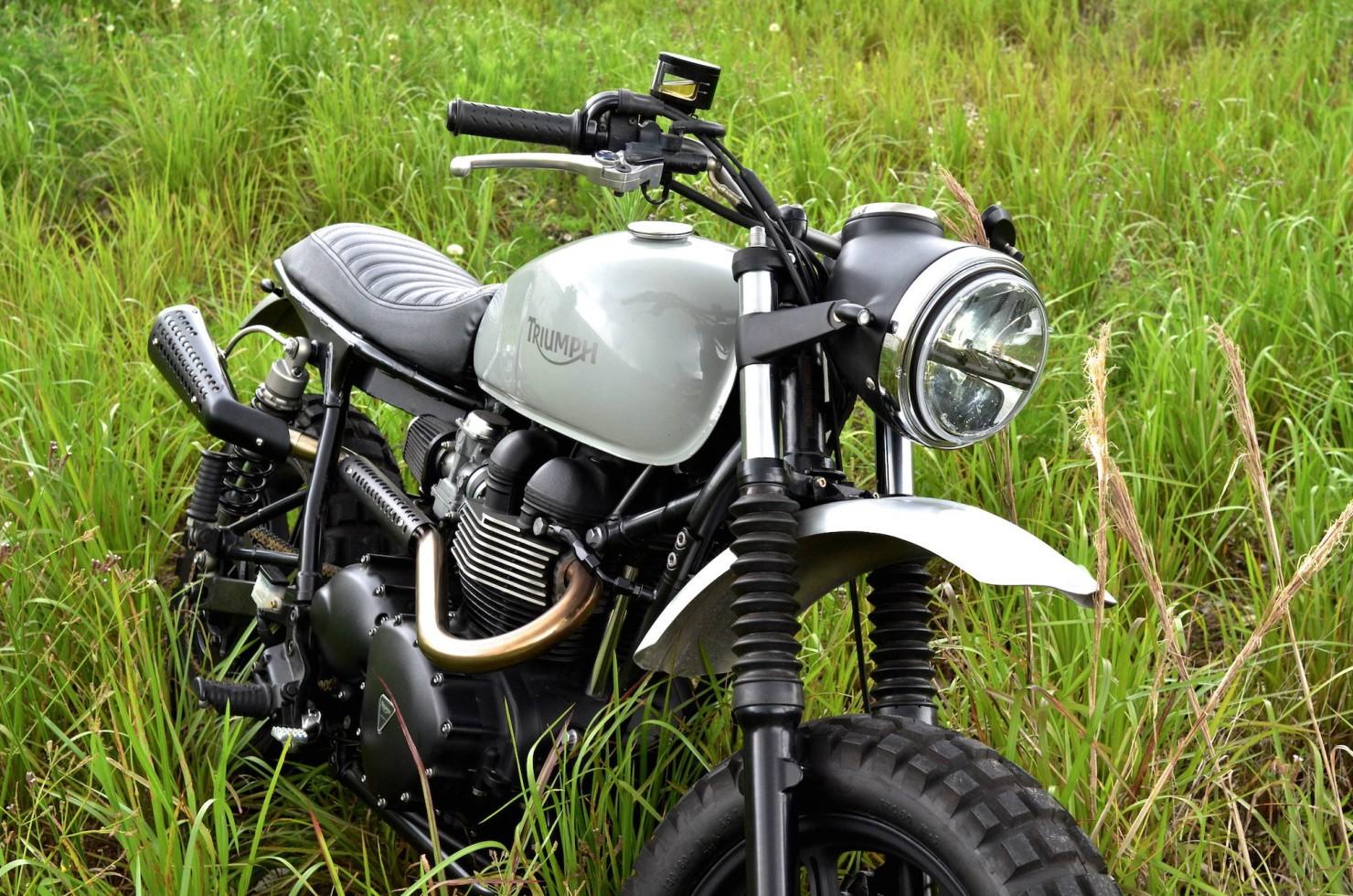 Triumph Scrambler Motorcycle 8