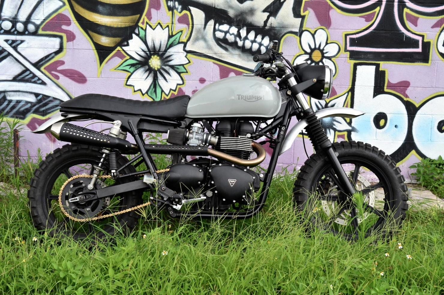 Triumph Scrambler Motorcycle 9