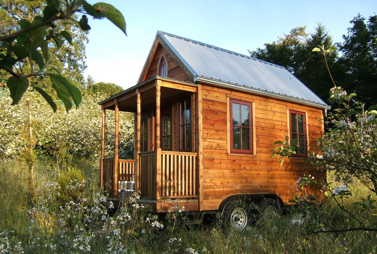 The tumbleweed tiny house company silodrome for Micro homes on wheels