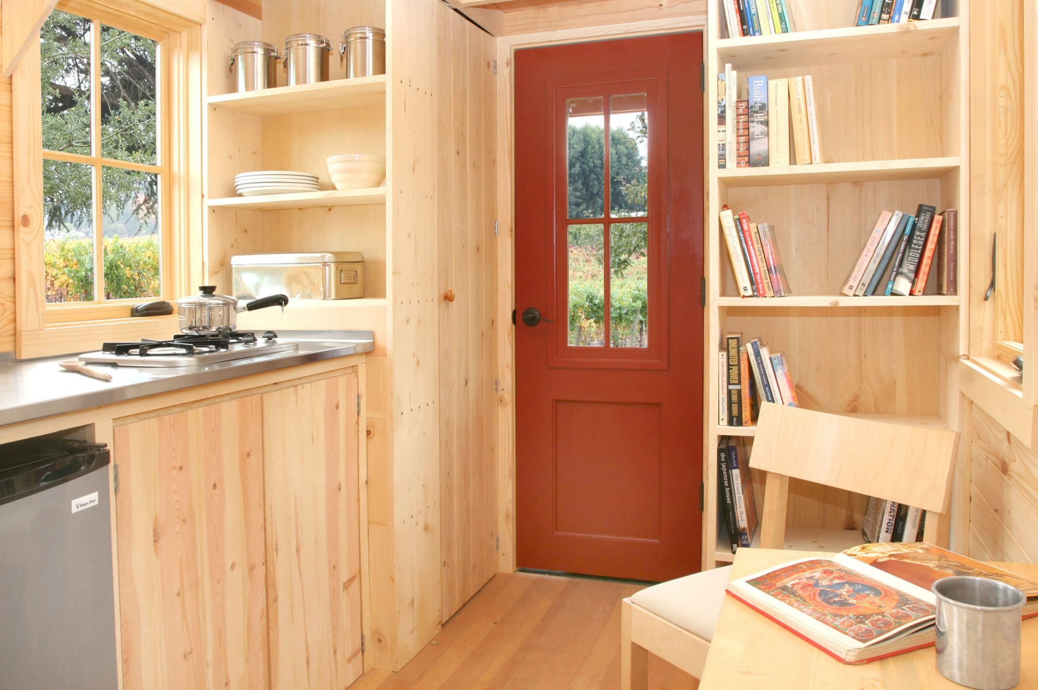 Inside Tiny Houses Interior As Well Small Modern House Interior Design