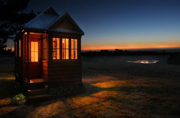 Tumbleweed Tiny House Company Night