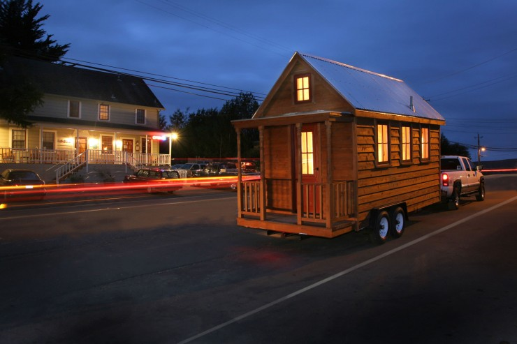 Tumbleweed Tiny House Company Towing