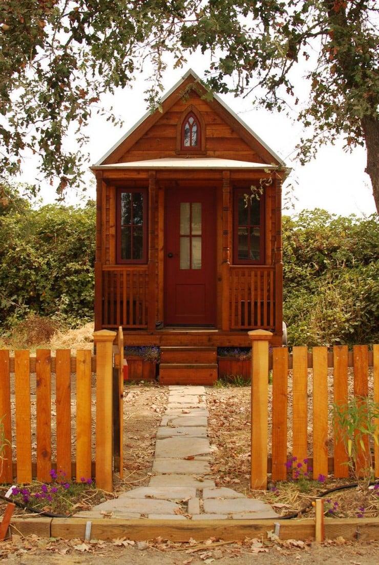 Tumbleweed Tiny House Company Verandah