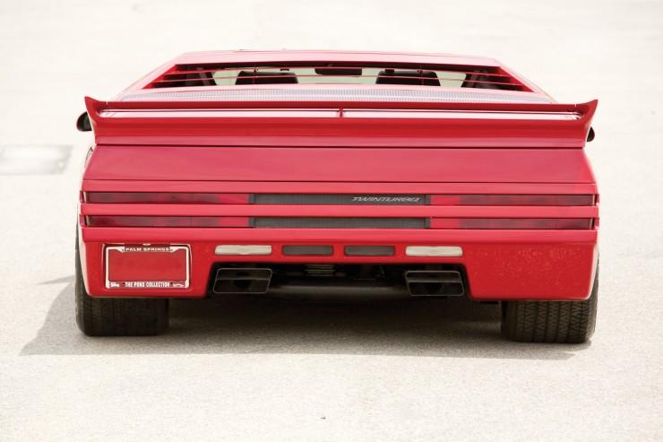 Vector W8 Twin Turbo Back