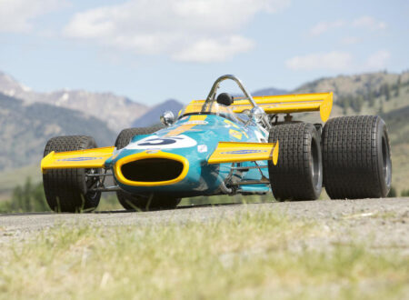 Vintage Formula 1 Car 14 450x330 - 1970 Brabham-Cosworth Formula 1 Car