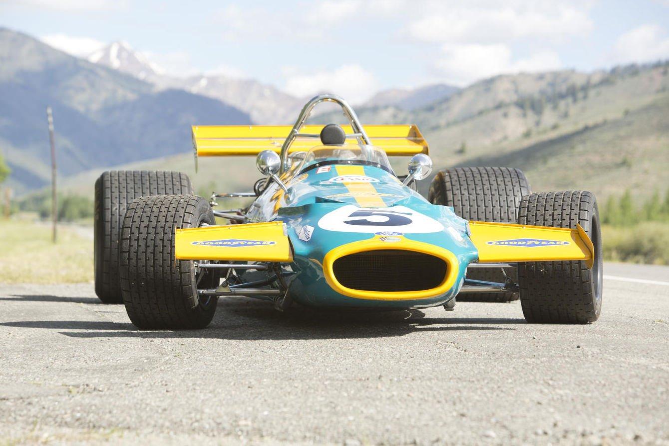 Formula Cars: 1970 Brabham-Cosworth Formula 1 Car