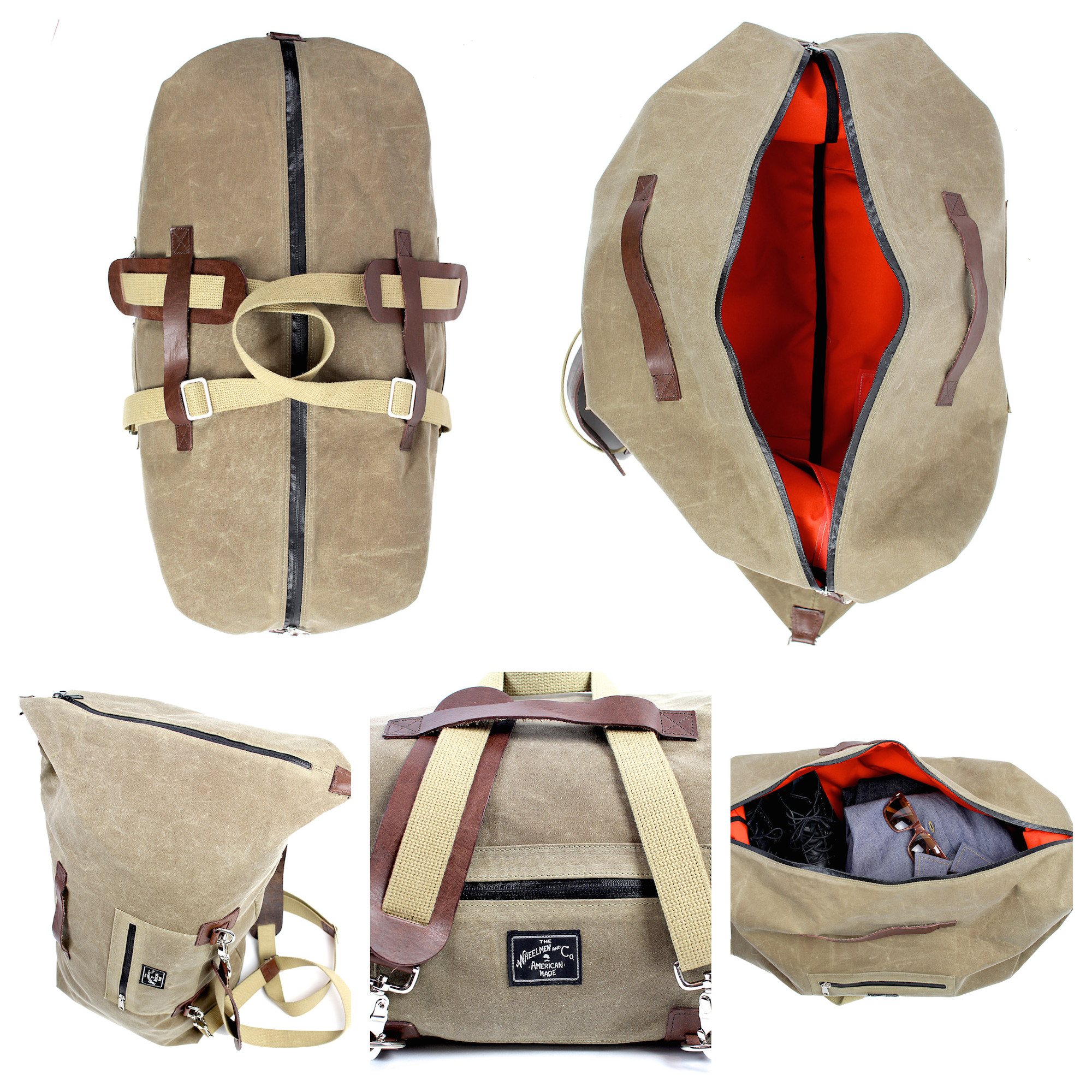 The Overman Duffle x Backpack 6477de0bd95