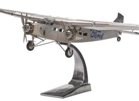 Ford Tri Motor Model Plane by Authentic Models 450x330 - Ford Tri-Motor Model by Authentic Models