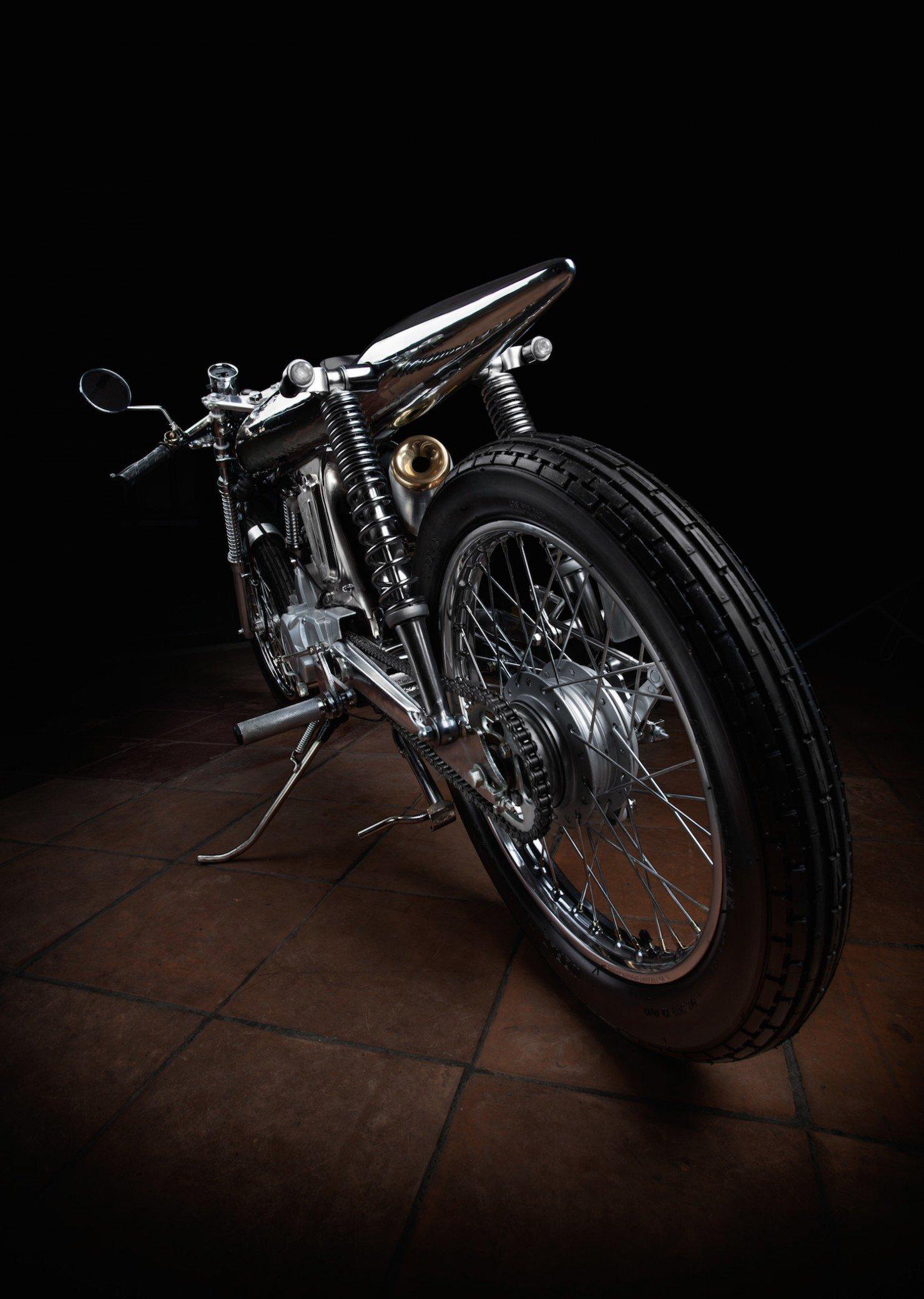 Honda SS Custom Motorcycle 2