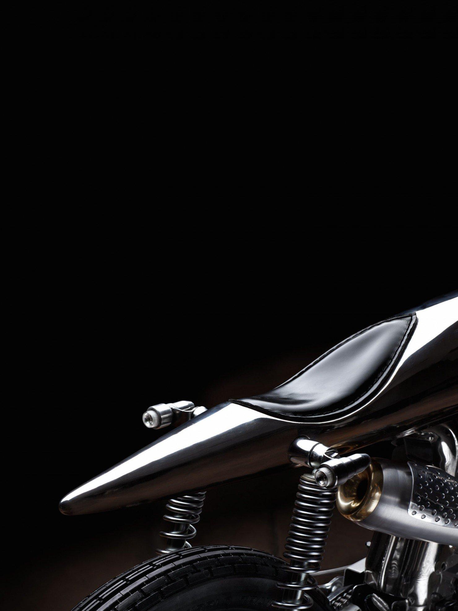 Honda SS Custom Motorcycle 4