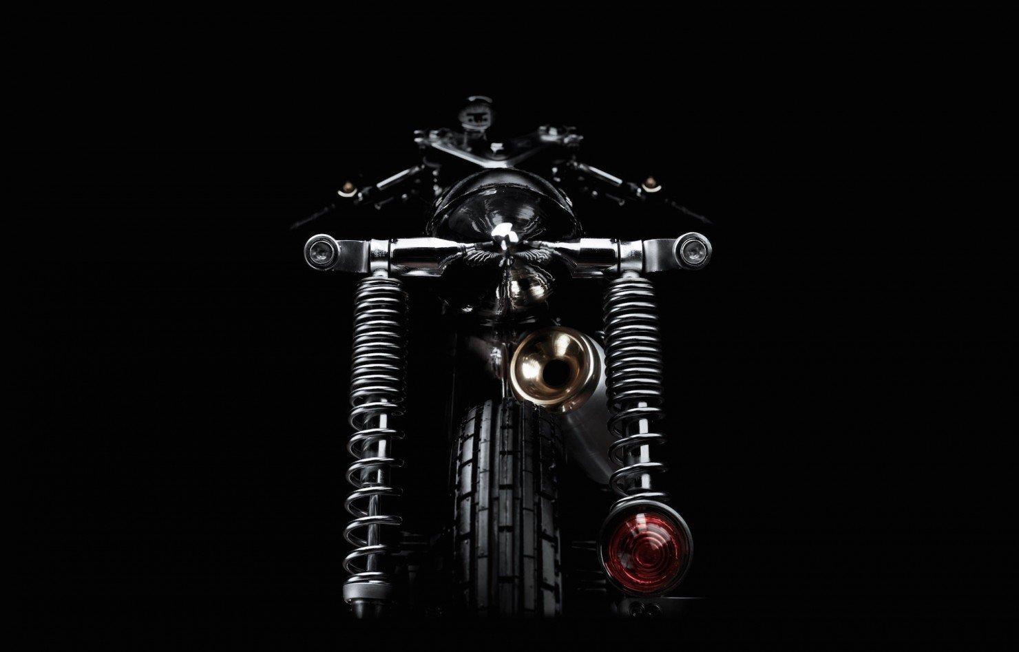 Honda SS Custom Motorcycle 5