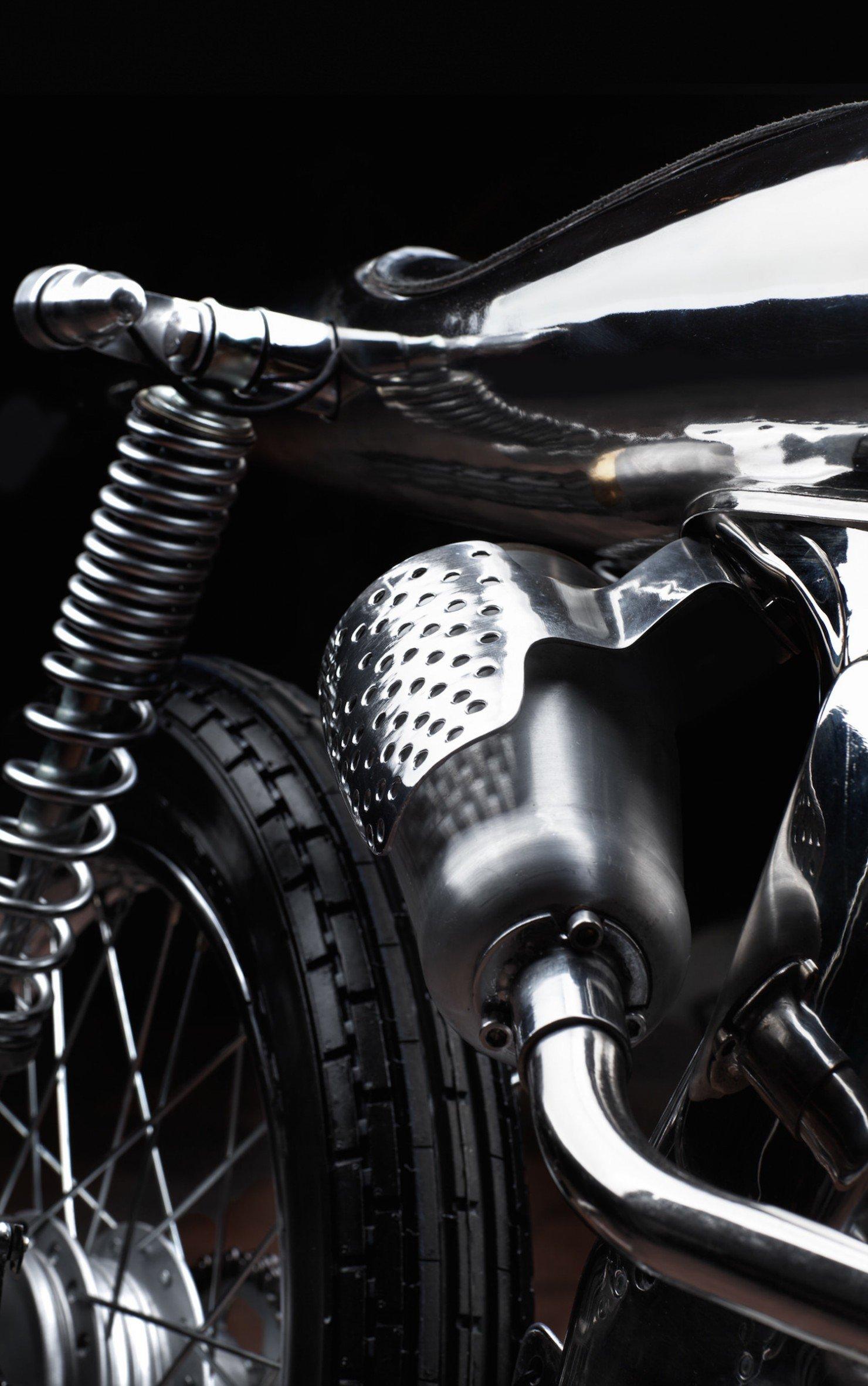 Honda SS Custom Motorcycle 6