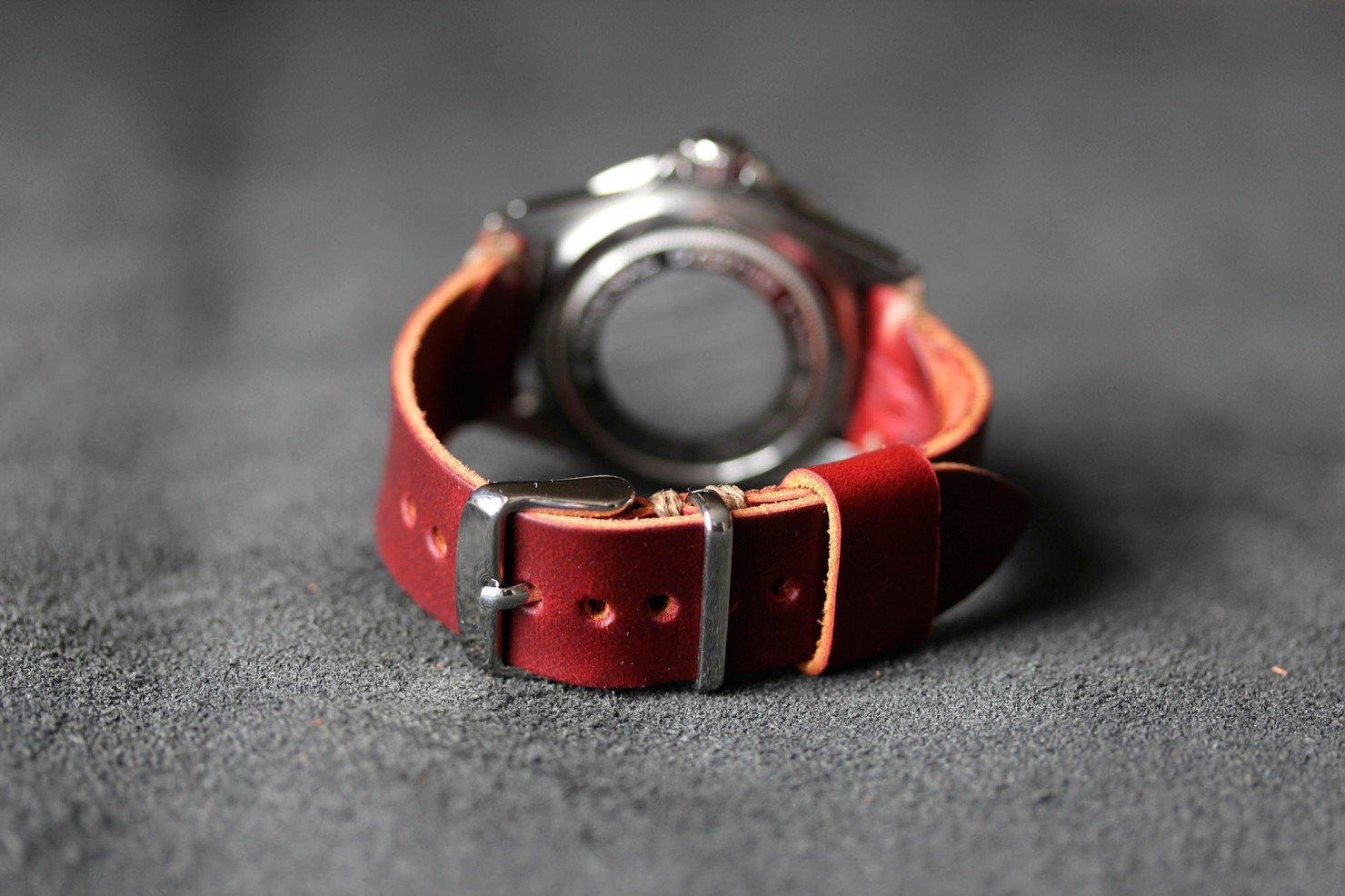 Leather Watch Strap Vintage