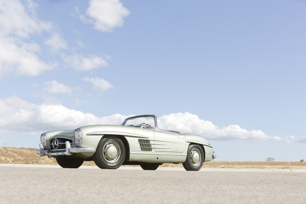 Mercedes Benz 300 SL Roadster Wallpaper 1200x800 - Mercedes-Benz 300SL Roadster Wallpaper